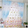The butterfly flutters high-grade curtain