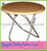 ROUND WOOD FOLDING BANQUET TABLE FOR PARTY TENT