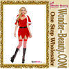 Wholesale red Christmas costume
