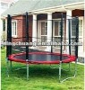 rampoline,big trampoline with safty net,ladder