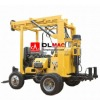 42-60mm drill rod hydraulic water well drilling rig with trailer mounted