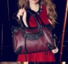 Girls Lady Woman Genuine Leather Shopping Travel Design Hand Bag