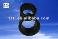 Molded black rubber sleeve, bushings
