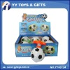 Wind up football shape Top game with flashing & music