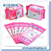 woman daily necessities /sanitary towel bag/can print your logo on