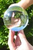 Clear acrylic contact juggling balls