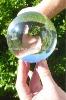 Clear acrylic contact juggling balls