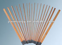 Copper-coated gouging rods