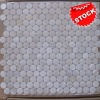Round freshwater shell mosaic in stock