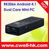 MK 808 Google Android TV Play 4.1 RK3066 Dual Core Mini PC Android 4.1 Jelly Bean OS