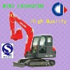 1 to 3 tons bukets small crawler excavator with Yanmar engine