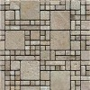 noce travertine mosaic tile