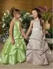Vintage Long Ruffle Flower Girl Dresses Girl Party Dresses
