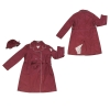 lady's long rain jacket WB08-OR038