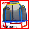 2012 GSD new design 7FT Hexagonal trampoline with enclosure net
