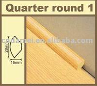 quarter round laminate flooring decoration accessory