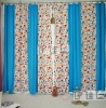 Polyester/cotton curtain patterns
