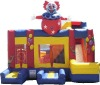 inflatables, jumping castle clown, bouncy castles A3030