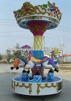Hot! amusement small carousel horse for sale