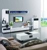 F1002 modern glossed-white living room set