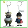 Advertising keychain with dragon ball action figues design 2