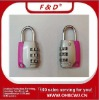 3 number password security lock(Mini Gift lock,combination lock,Padlock)