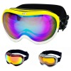 anti-reflect diopters yellow ski goggles with CE FDA certificate
