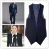 Polyester nylon cotton Woven suit vest fabric for wholesale