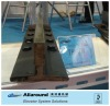 T90/B machined elevator guide rail, elevator parts,lift spare parts, linear guideway