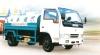 white watering truck