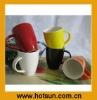 New 350ml 12oz Colorful Durable Ceramic Tea Mug 1A106