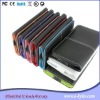 Leather Case Cover Wallet Bumper For iPhone 4G 4 mobile phone case