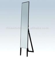 Wood Standing Mirror