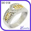 Classics gold-plated diamond ring jewellery