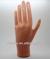 Plastic Hand false hand nail art practice hand NT-10