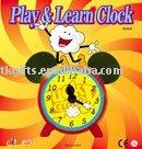 plastic clock toys