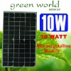 10Watt 12Voltage Solar Panel 10W 12V MONO SOLAR PANEL