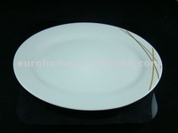 PL-F009 Hotel & Restaurant white dinner plates for weddings