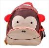 Hot selling Monkey cute kids school backpack bags