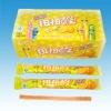 Orange flavour gums candy