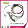 12 cores ribbon fiber optic pigtail