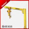 BZ Model Electric Hoist Pillar Crane, Column Mounted Jib Crane