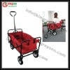 Utility folding wagon cart