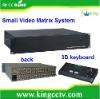 High Density Design Matrix System 16 Inputs 2 Outputs Video Matrix HK-EV1602