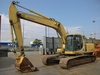 USED ORIGINAL PC220-7 CRAWLER EXCAVATOR