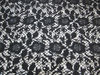 metallic lace embroidery fabric for haute couture