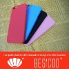 Colorful of plastic rubber paint case for iPhone5