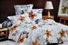 beautiful printed microfiber fabric bedding set