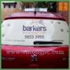 two way vision film for window advertising, two way vision perforated window film