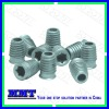 stainless steel conical screw with hexagon socket(non standard fastener)